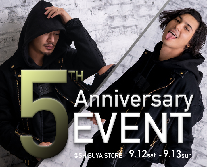 #Re:room渋谷店にて5th Anniversary Eventを開催