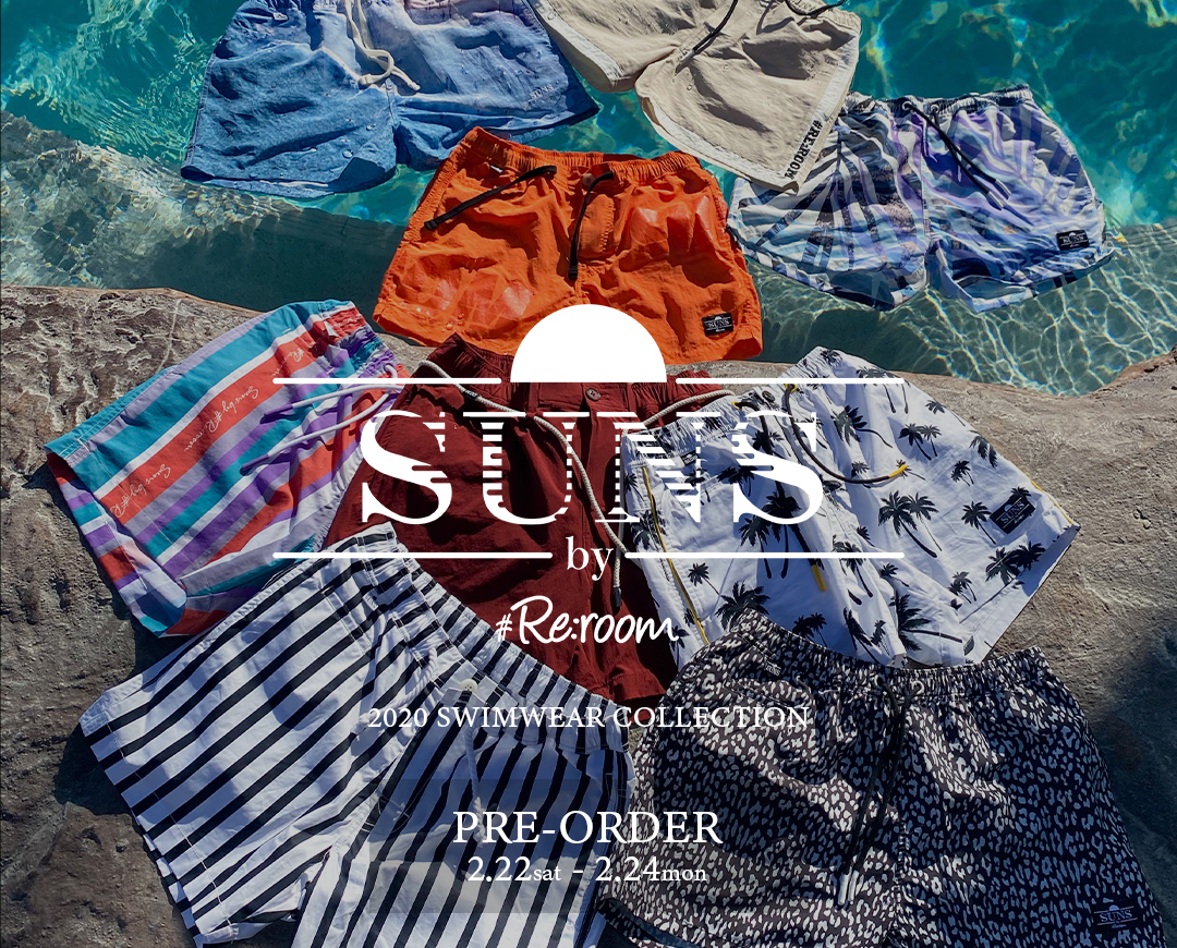SUNS by #Re:room 2020 SWIMWEAR COLLECTION PRE-ORDER EVENT