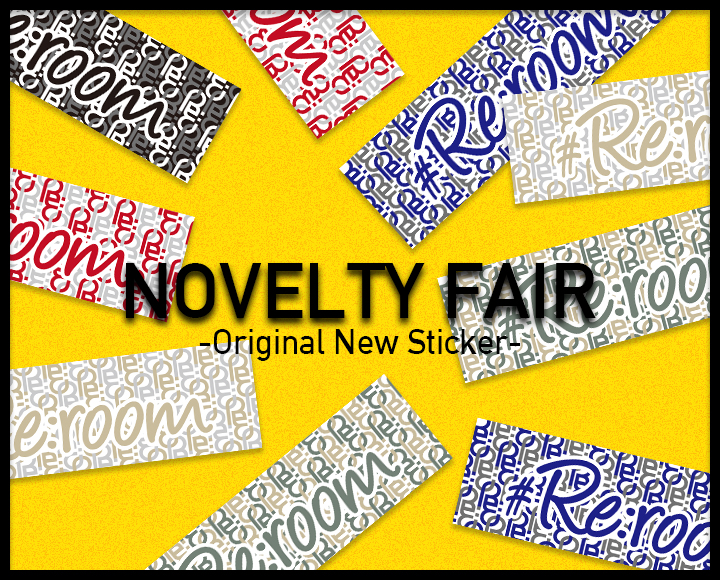 【NOVELTY FAIR】NEW STICKER