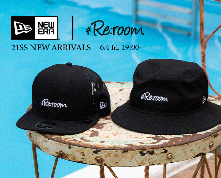 NEW ERA×#Re:room 2021 SUMMER COLLECTION