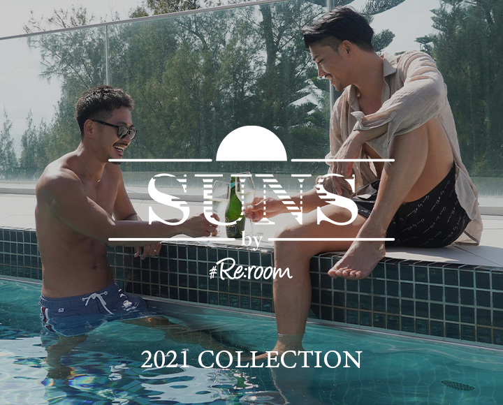 SUNS by #Re:room 2021 SWIMWEAR COLLECTION